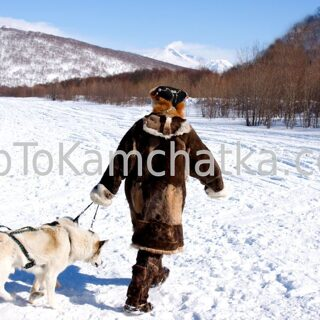 Kamchatka. Koryak and dogs