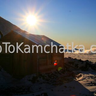 Kamchatka. The pass of the volcanologists 3300 m. Tours to the Klyuchevskoy volcano