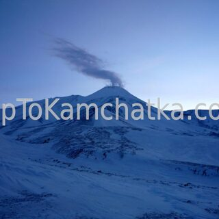 Kamchatka. Avachinsky volcano in winter