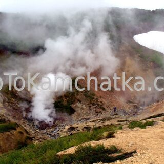 Kamchatka. Small Valley of Geysers