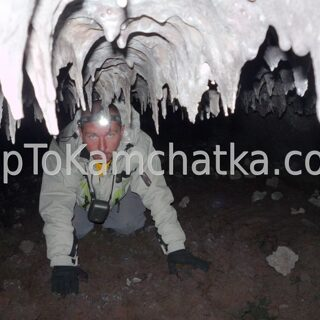 Kamchatka.  Southern vent. Lava caves