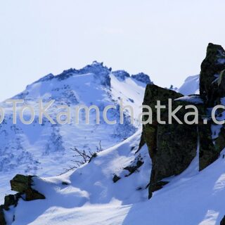 Kamchatka. Nalychevo Nature Park. Winter tours in Kamchatka