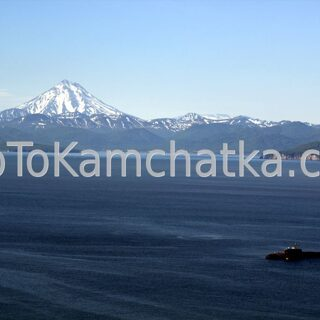 Kamchatka. Avacha Bay.  Submarine