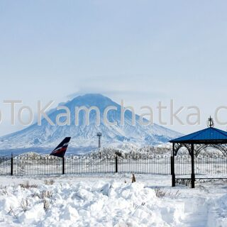 Kamchatka. Airoport