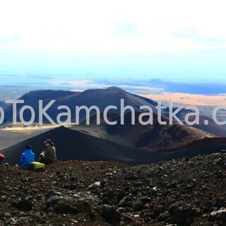Kamchatka.  From the top of the Northern vents cones
