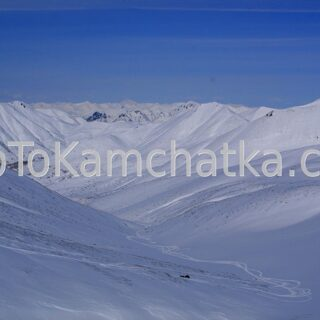 Kamchatka. Nalychevo Nature Park. Pinachevsky pass. Winter tours to Kamchatka