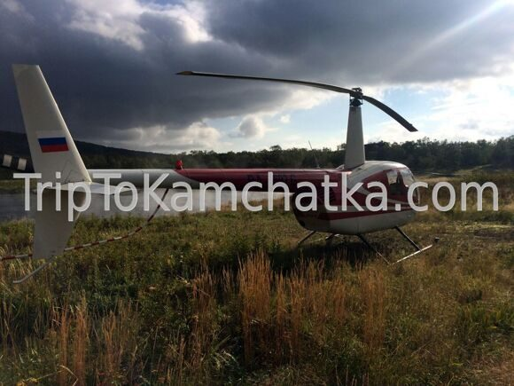 Kamchatka. Helicopter tours to the springs