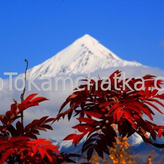 Kamchatka. Ostry Tolbachik volcano. Tours to the Plosky Tolbachik and Ostry Tolbachik