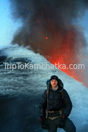 Kamchatka. Near the Eruption of the Plosky Tolbachik volcano 2012. Tours to the Tolbachik volcano
